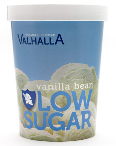 Vanilla Bean Low Sugar 1 Litre